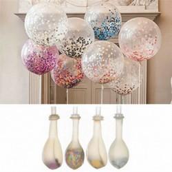Nincs szín - 20db 12 &quot színes konfetti léggömb születésnapi esküvői party dekoráció hélium lufi