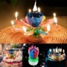 Nincs szín - FORGATÓ Lótusz gyertya születésnapi virág zenés virág torta gyertyák és zene varázslat