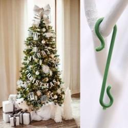 50db - 100 x karácsonyfa horgok csecsebecse akasztók függő dekorációs vezetékek Egyesült Királyságban