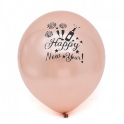 * 1 Rose Gold 10db 12 &quot (Boldog N ... - 10X 2019 boldog új évet Latex Balloon Christmas Birthday Wedding Party Decor