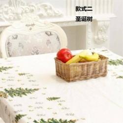 2. karácsonyfa - WIPE CLEAN PVC VINYL Asztal ruházat étkező asztal borító védő többszörös tervek