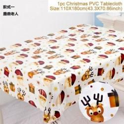 Elk Mikulás - WIPE CLEAN PVC VINYL Asztal ruházat étkező asztal borító védő többszörös tervek