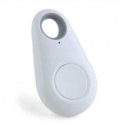 * 1 Fehér - Riasztás intelligens nyomkövető Bluetooth mini címke GPS-kereső kereső pénztárca kulcs kisállat gyermek