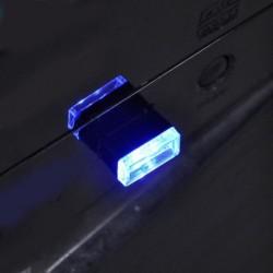 Kék - Univerzális RGB USB LED Mini vezeték nélküli autó belső világítási légköri fény