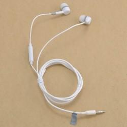 fehér - 3,5 mm-es sztereó fülbe helyezhető fülhallgató fülhallgató fülhallgató Samsung Xiaomi iPhone készülékhez