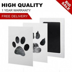 Nincs szín - Baby Safe Inkless Touch Footprint Handprint Ink Pad Mess Free Record emlékére