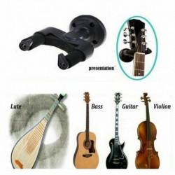 Nincs szín - Fekete gitár fali akasztótartó konzol állvány akusztikus gitár basszushoz _AU