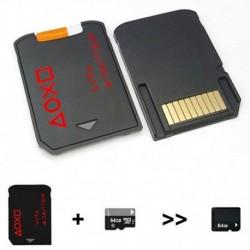 Nincs szín - V3.0 SD2Vita PSVita játékkártya - micro SD kártya adapter PS Vita PSV 1000 2000-hez