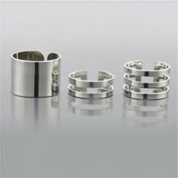 A30-3Pcs / Ezüst szett - 12db ezüst / arany Boho verem sima csülök felett Midi ujj gyűrűk készlet ajándék