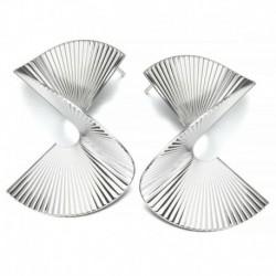 Design-15 ezüst (5 cm) - Boho geometriai kerek kör Dangle Drop fülbevaló fülbevalók női divat ékszerek