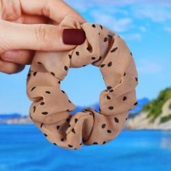* 9 D - Karácsonyi nők hajráncok rugalmas haj nyakkendő gyűrű kötél Xmas haj kiegészítők