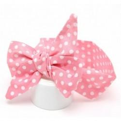 * 3 Pink Dot - Aranyos baba lányok kisgyermek újszülött nagy fejpánt fejfedők haj íj kiegészítők 2020