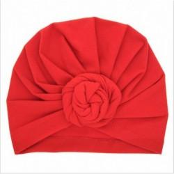 * 1 Piros - Baba fejpántok Turbán kalap íj hajszalagok Gyerekek csecsemő sapka haj kiegészítők