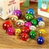 Design-5 4cm -6db labda - Karácsonyi angyal plüss babajáték karácsonyfa medál díszek lakberendezési