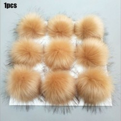Kávé   Nyomógomb - Barkácsolás 10 cm 12 cm aranyos műnyúl szőrme Pom Pom labda pompom kötő kalap kiegészítők