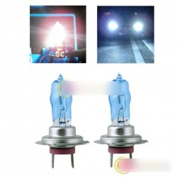 2x H7 6000K 12V HOD Xenon autó lámpa izzó