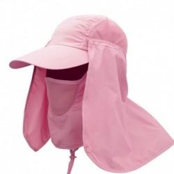 Rózsaszín - Motorkerékpár arcmaszk anti-UV balaclava motorkerékpár fejfedő nyak sapkák sál moto maszk sapka