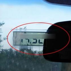 Digitális LCD Autó szélvédő hőmérő tapadókoronggal