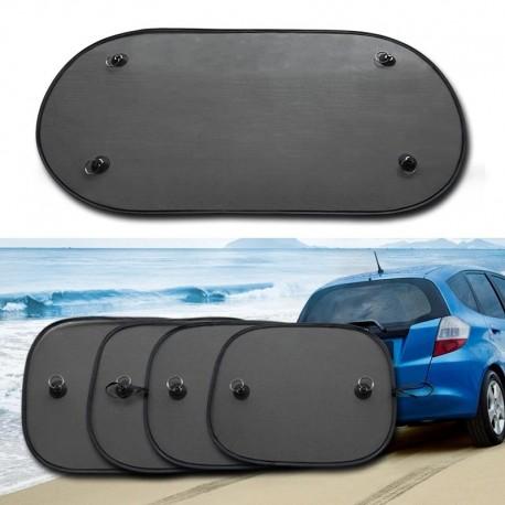 1db fekete 100 * 50cm-es autós napernyő üveg az autó oldalsó és hátsó ablakaihoz anti-UV függöny üveg hátsó ablak