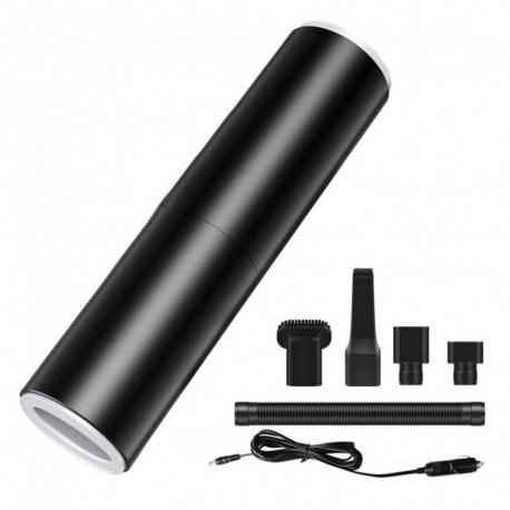 Fekete - 4000Pa hordozható kézi porszívó 120W autós töltő dugaszolható vákuum HEPA szűrővel otthoni autószoba