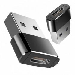 Adapter USB 3.0 férfi - női C típusú Otg USB 3.0 A adapter USB C átalakító Macbookhoz Nexushoz Nokia N1 készülékhez