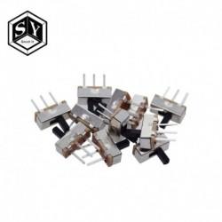 10db megszakító be-ki mini csúsztatható kapcsoló SS12D00 SS12D00G3 3pin 1P2T 2 helyzet Kiváló minőségű