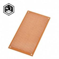 Egyoldalas univerzális 5x10cm forrasztás nélküli NYÁK teszt kenyérlemez réz prototípus papír ónozott lemez csatlakozó