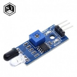 Nagyszerű 1db IR infravörös akadályelkerülés érzékelő modul Arduino intelligens autórobot 3 vezetékes