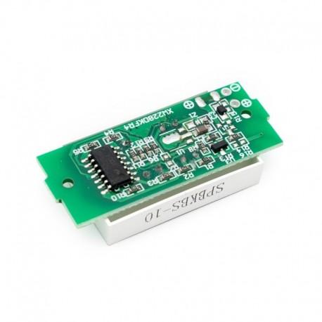 4S16.8V kék - 20db 1S 2S 3S 4S egyetlen 3,7 V-os lítium akkumulátor kapacitásjelző modul 4,2 V-os kék kijelzős elektromos