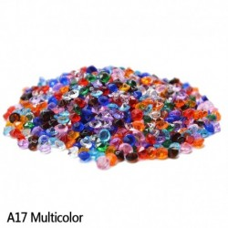 sokszínű - Esküvői dekoráció 1000PCS 4,5 mm-es kézműves kristály konfetti asztal szórja át a kristályokat Középső