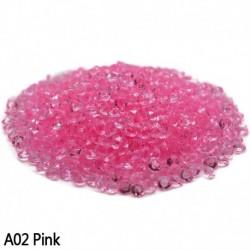 rózsaszín - Esküvői dekoráció 1000PCS 4,5 mm-es kézműves kristály konfetti asztal szórja át a kristályokat