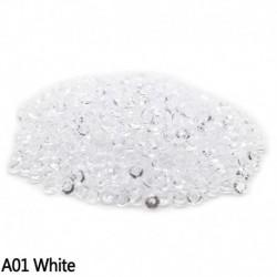 fehér - Esküvői dekoráció 1000PCS 4,5 mm-es kézműves kristály konfetti asztal szórja át a kristályokat Középső