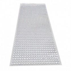 ezüst - 900db / készlet 4 mm-es barkács öntapadó matrica telefon PC Art Bling kristály akril strasszos scrapbooking