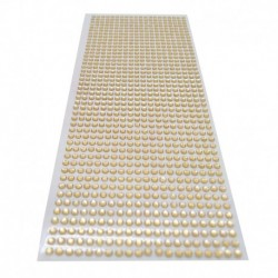 könnyű kávé - 900db / készlet 4 mm-es barkács öntapadó matrica telefon PC Art Bling kristály akril strasszos