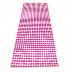 rózsavörös - 900db / készlet 4 mm-es barkács öntapadó matrica telefon PC Art Bling kristály akril strasszos scrapbooking
