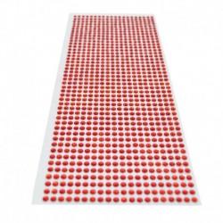 piros - 900db / készlet 4 mm-es barkács öntapadó matrica telefon PC Art Bling kristály akril strasszos scrapbooking matrica