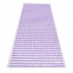 világos lila - 900db / készlet 4 mm-es barkács öntapadó matrica telefon PC Art Bling kristály akril strasszos scrapbooking