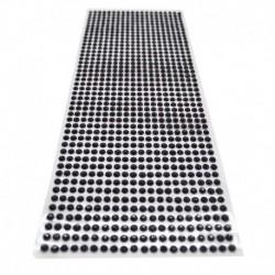 fekete - 900db / készlet 4 mm-es barkács öntapadó matrica telefon PC Art Bling kristály akril strasszos scrapbooking