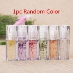 1db véletlenszerű szín - 1 db Lipgloss Temperatuur Veranderen Glitter Transparante Hydraterende Lipgloss Blijvende