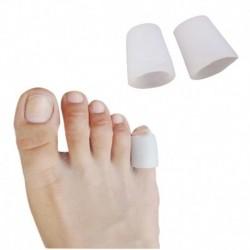1 pár - 1 / 2pár lábujjvédők szilikon gél borítás a hólyagok tyúkszemének megelőzésére szilikon bunion ujjujj