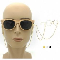 Női fémes, minden mérkőzésre alkalmas egyszerű szemüveg csúszásgátló lánc napszemüveg lánc kiegészítők horgok