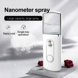 20ml hordozható nano köd permetező arc test porlasztó háromszög alakú gőzölő hidratáló bőrápoló mini arcpermet