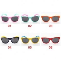 1db Rugalmas gyerek napszemüveg Polarizált gyermek Baby biztonsági bevonat UV400 szemüveg