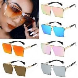 1 db Új színes női napszemüvegek Egyedülálló túlméretes árnyalat gradiens Vintage szemüvegek Keretek