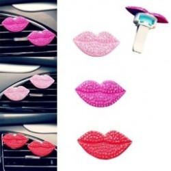 1 dbDivat Loving Szexi ajkak Autó illatosító Illatos parfümfúvó Frissítő autó dekoráció több színben