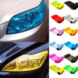 30 * 60/30 * 100 cm-es Hot Car Headlight matrica Sötétfólia hátsó lámpa Vinyl Ködlámpa
