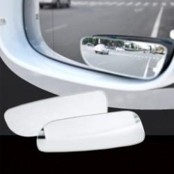 2db autós  tükör Keret nélküli 360 fokos elforgatható ferde üveg Konvex széles látószögű