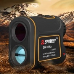 SNDWAY Teleszkót ávolságmérő Digitális 8X 900M vadász golf lézeres távolságmérő mérőszalag