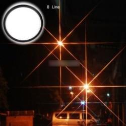 1x 72 mm-es 8sorvUV Ultra-Violet Haze Dslr Fényképezőgép Üvegfém Lencse Szűrő Objektívvédő eszköz