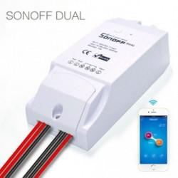 Sonoff Dual WiFi vezeték nélküli Smart Automata kapcsoló időzítő modul APP Remote